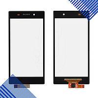 Тачскрин Sony Xperia Z1 C6902, C6903, C6906, C6943, цвет черный