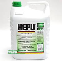 Антифриз HEPU G11 зеленый концентрат P999-GRN-005 5л, фото 1