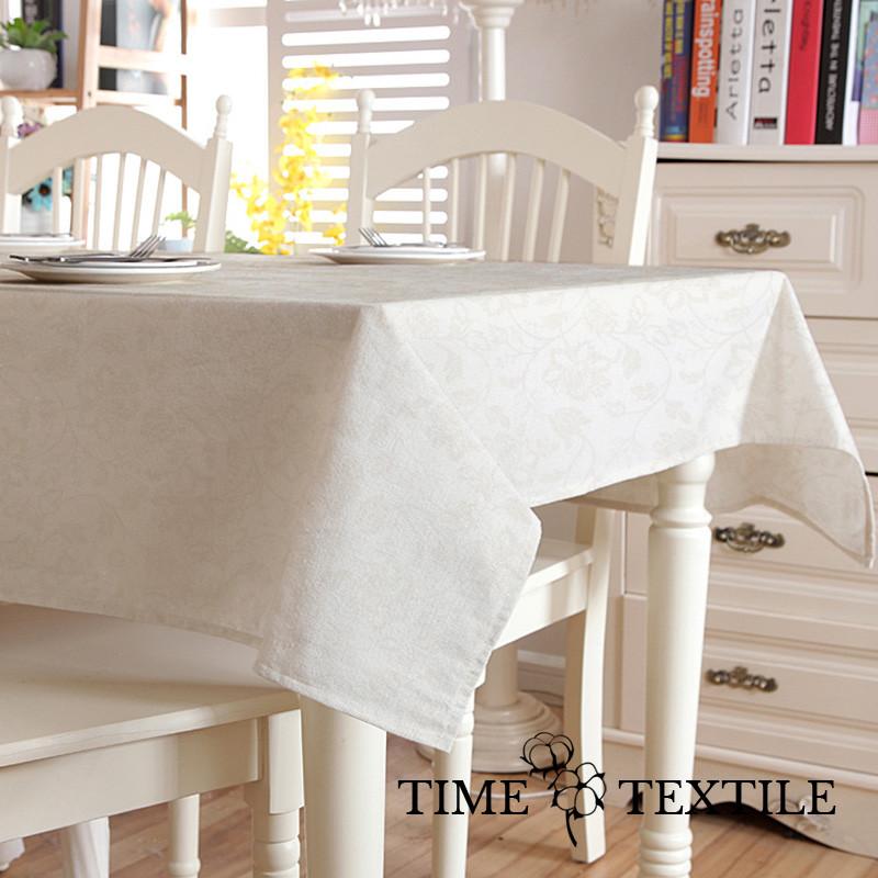 Скатерть с акриловым покрытием Time Textile Bolonia Naturale