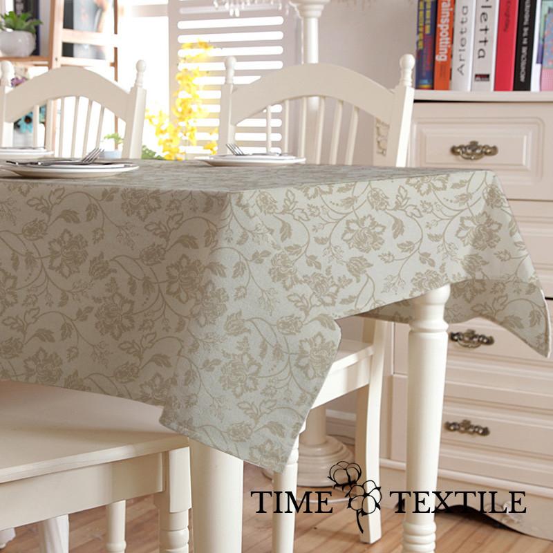 Скатерть с акриловым покрытием Time Textile Bolonia Beige
