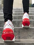 Мужские кроссовки в стиле Nike Air Force 270 (White/Red), Найк Аир Форс 270 (Реплика ААА), фото 5
