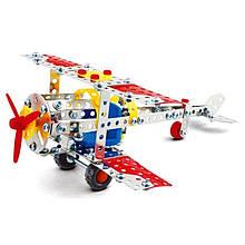 Конструктор металлический  аэроплан Magical Model