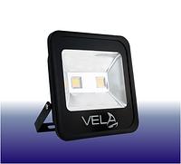 Светодиодный прожектор LED 100Вт 450-460nm (синий), IP65, фото 1