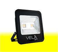 Светодиодный прожектор LED 100Вт 560-600nm (желтый), IP65, фото 1
