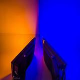 Светодиодный прожектор LED 100Вт 560-600nm (желтый), IP65, фото 2