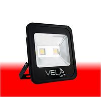 Светодиодный прожектор LED 100Вт 620-630nm (красный), IP65, фото 1
