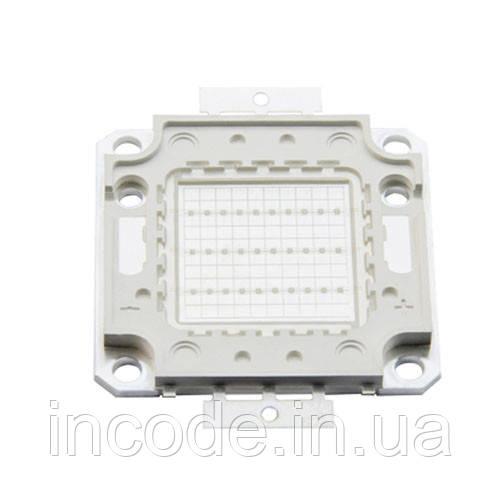 Светодиодная матрица LED 30Вт 560-600nm, желтый
