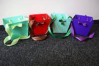 Подарочная сумка пакет для цветов маленькая