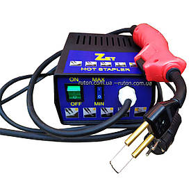 Инструмент для ремонта пластиковых бамперов автомобиля и мото пластика ZET + 100шт нержавеющей скобы в подарок