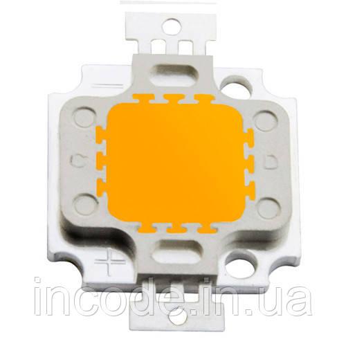 Светодиодная матрица LED 10Вт 3000К 920Лм