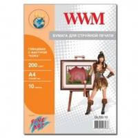 Бумага дизайнерская WWM GL200.10