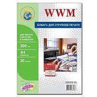 Бумага дизайнерская WWM CD0200.20