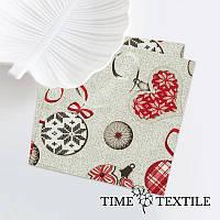 Новогодняя столовая салфетка Time Textile Warm Mittens 38х38 см
