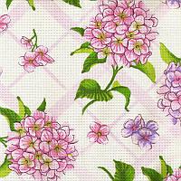 Вафельное полотенце Time Textile Гортензия 30x60 см