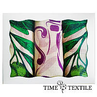 Набор вафельных кухонных полотенец Time Textile Olive Pink 40x60 см 3 шт