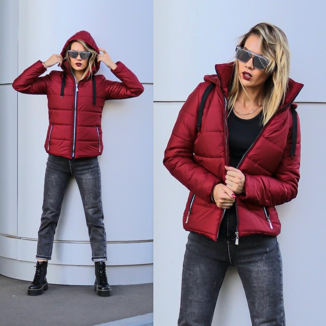 Куртка женская / плащевка, синтепон 200 / Украина 31-18041-2, фото 1