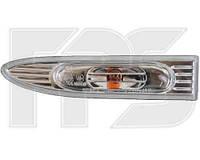 Указатель поворота на крыле Hyundai Accent '06-10 левый, белый (прозрачный) (DEPO)