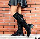Демисезонные женские сапоги черного цвета, натуральная кожа  36 40 ПОСЛЕДНИЕ РАЗМЕРЫ, фото 2