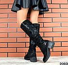 Демисезонные женские сапоги черного цвета, натуральная кожа  36 40 ПОСЛЕДНИЕ РАЗМЕРЫ, фото 3
