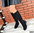 Демисезонные женские сапоги черного цвета, натуральная кожа  36 40 ПОСЛЕДНИЕ РАЗМЕРЫ, фото 4