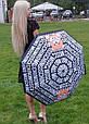 Зонт складной полу-автоматический Moschino Toy Bear черный, фото 3