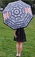 Зонт складной полу-автоматический Moschino Toy Bear черный, фото 2