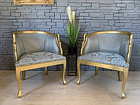 Итальянское  кресло лебедь. кресло с лебедями.