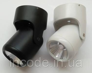 Накладной светильник  VL-361-10W LED 40° черный