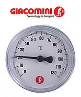 "Термометр Giacomini 1/2"" для твердотопливных котлов."