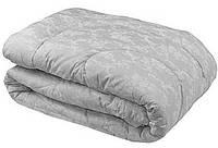 """Одеяло силиконовое   Руно™ """"Серый вензель"""" 172х205см в Бязи, фото 1"""