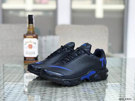 Мужские кроссовки Nike air max TN,темно синие с синим, фото 2