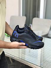 Мужские кроссовки Nike air max TN,темно синие с синим, фото 3