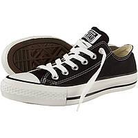 Кеды Converse All Star Chuck Taylor черно-белые низкие 40 размер - 25.5 см