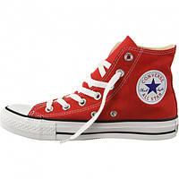 Кеды Converse All Star Chuck Taylor красные Высокие 40 размер - 25.5 см