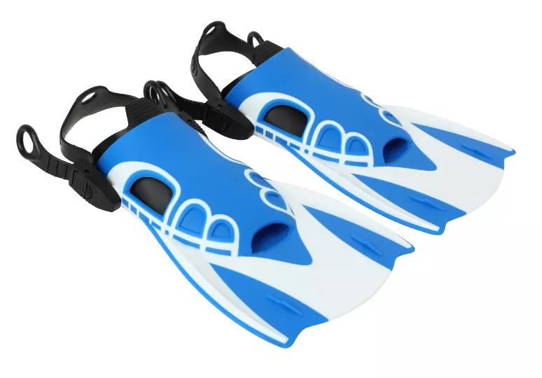 Спортивні короткі ласти для швидкого плавання AquaSpeed