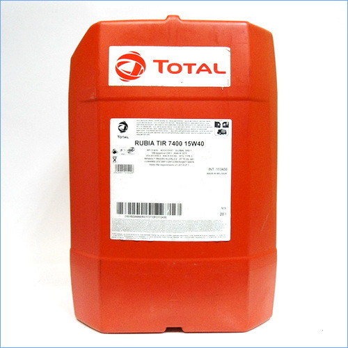 Масло Total RUBIA TIR 7400 15W40 (20L)