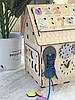 Бизиборд домик 45 х 32 х 32 см, фото 3