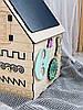 Бизиборд домик 45 х 32 х 32 см, фото 4