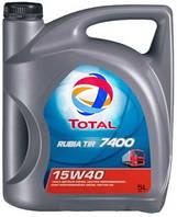 Масло Total RUBIA TIR 7400 15W40 (5L)