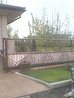 Кованные автоматические ворота, фото 1