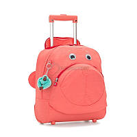 Чемодан детский на 2 колесах Kipling BTS Big Wheely Peachy Pink C 16.5л (K00157_51P)