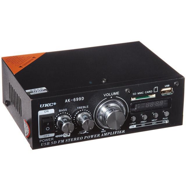 Усилитель звука UKC AD-699D 2 канала