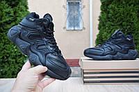 Мужские зимние кроссовки в стиле Adidas Equipment FYW S-97  черные, фото 1
