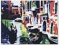 """Картина по номерам G086 """"Венеция"""" 40х50см, (холст с рамкой, акриловые краски, кисть-2шт)"""