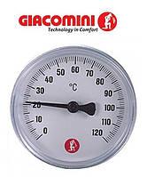 "Термометр Giacomini 3/8"" для твердотопливных котлов."
