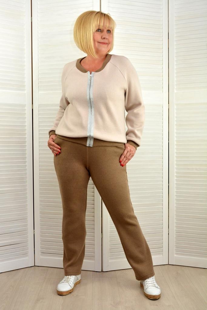 Костюм: Бомбер и брюки - Модель Л561-3
