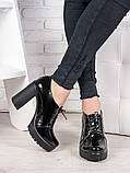 Шкіряні туфлі на підборах 6988-28, фото 2