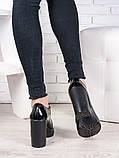 Шкіряні туфлі на підборах 6988-28, фото 4