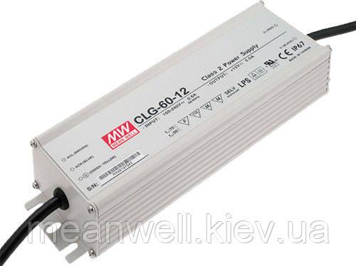CLG-60-24 Блок питания Mean Well 60вт, 2,5А, 24в драйвер питания светодиодов LED IP67