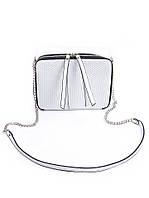 Клатч кожаный белый 7076-11, фото 1